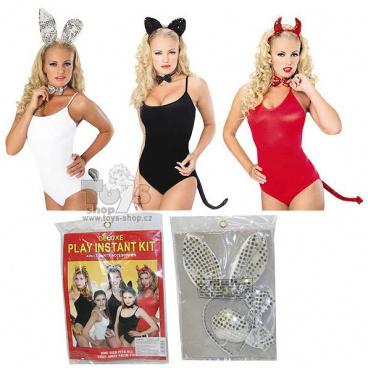 sada karnevalová kočka 3 dílný