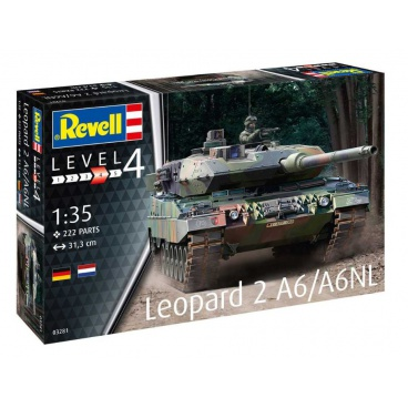 Revell Plastic ModelKit tank 03281 - Leopard 2 A6/A6NL (1:35)
