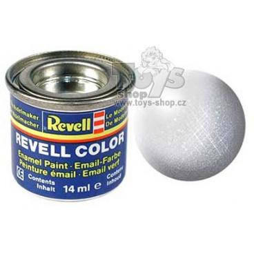 Revell emailová barva 32199 metalická hliníková
