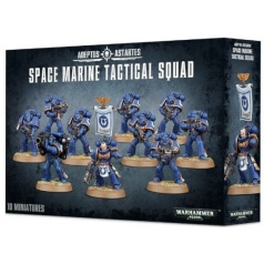GW Warhammer 40.000: Space Marine Tactical Squad
