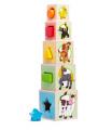 """Woody 95005  Věž z 5ti kostek """"Zvířátka"""""""