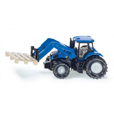 SIKU Blister - Traktor s nakladačem pro palety