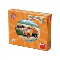 Dino Tatra drevené kocky 12K