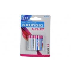 Batérie Grundig LR03 / AAA 1,5 V alkaline 4ks na karte