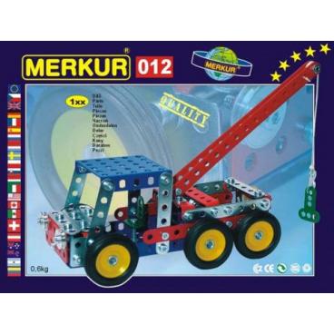 Merkur 012 kovová stavebnice Odtahové vozidlo