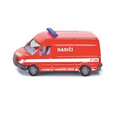 SIKU česká verze - hasiči dodávka