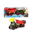 Dickie Happy Traktor s přívěsem 65cm