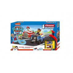 Carrera First  Autodráha Paw Patrol Tlapková Patrola 2,9m plast +2 auta na bat. v krabici 50x30x7cm