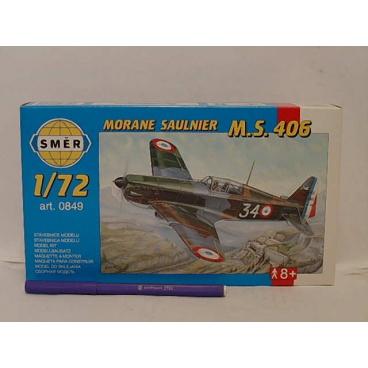 Směr modely plastové MORANE Saulnier MS 406    1:72