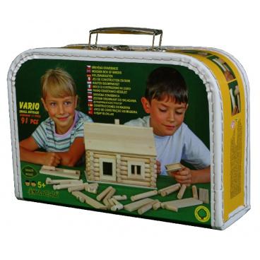 Walachia dřevěná stavebnice - Vario kufřík