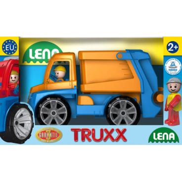 LENA Truxx popelář v okrasné krabici