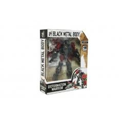 Teddies Transformer letadlo/robot plast 17cm v krabici 21x27x6cm