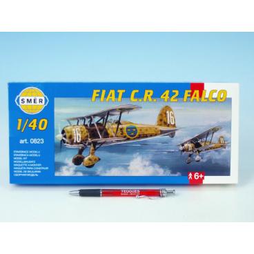 Směr Model Fiat Č.R. 42 FALCO 20,9x24,1cm v krabici 31x13,5x3,5cm
