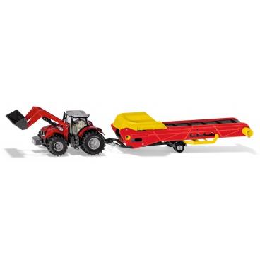 SIKU Farmer - Traktor s dopravníkom