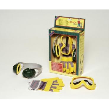 Klein Bosch set - sluchátka,rukavice,brýle