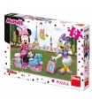 Dino dětské puzzle WD Minnie v  Paříži 24D
