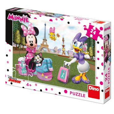 Dino Minnie Dino dětské puzzle WD Minnie v  Paříži 24D