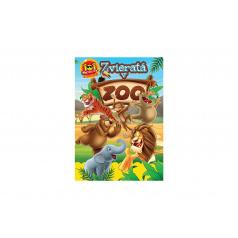 FONI Book Aktivity Zvieratá v ZOO 101 s nálepkami SK verzia 21x30cm