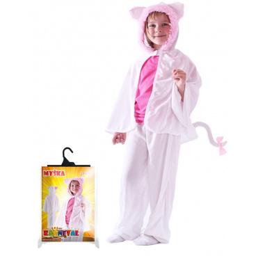 Rappa Dětský karnevalový kostým kočka - plášť