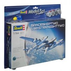 Revell ModelSet vesmír 64842 - SpaceShipTwo & WhiteKnightTwo