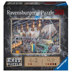 Ravensburger Exit Puzzle: V továrni na hračky 368 dielikov