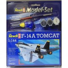 Revell ModelSet letadlo 64021 - F-14A Tomcat (1:144)