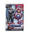 Hasbro Avengers Titan Hero Power FX Kapitán Amerika 30cm figurka