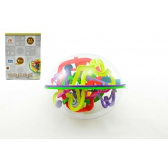 Hlavolam Bludiště ovál 3D plast 20cm Perplexus v krabici