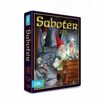 Albi Sabotér - karetní hra