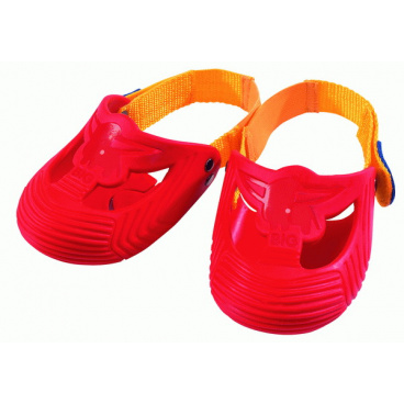 BIG červené ochranné návleky na botičky