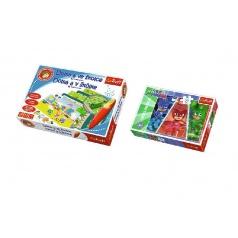 Trefl PACK Doma a ve školce s magickým perem  + Puzzle 30 dílků grátis (mix obrázků)