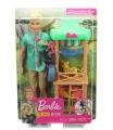 Mattel Barbie KEN A POVOLÁNÍ HERNÍ SET ASST