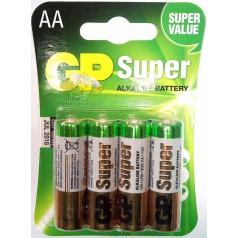 Baterie velikost AA 1,5V alkalická tužková různé druhy, cena za 1kus