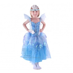 Dětský karnevalový kostým mořská princezna vel. M
