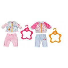 Zapf Creation Baby Born® Bunda a kalhoty, 2 druhy
