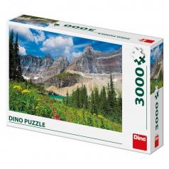 Dino puzle Ledovce v Montaně 3000D