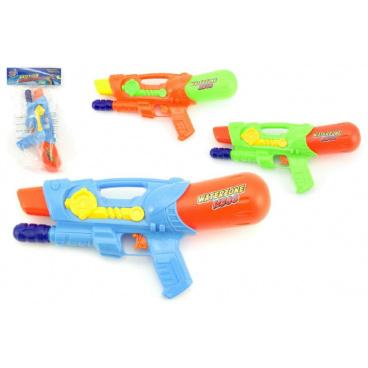 Teddies Vodní pistole 30cm plast asst 3 barvy