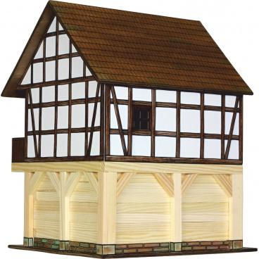 Walachia dřevěná stavebnice - Hrázděný špíchar