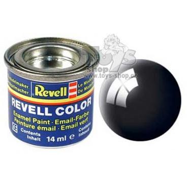 Revell emailová barva 32107 lesklá černá 14ml