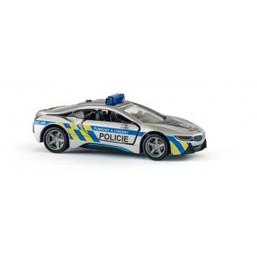 SIKU Super česká verze - policie BMW i8 LCI
