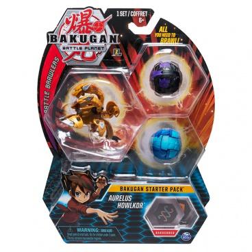 Spin Master BAKUGAN STARTOVACÍ SADA 3ks