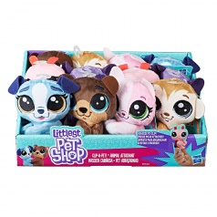 Littlest Pet Shop LPS Plyšák s klipom