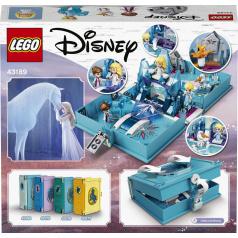 LEGO Elsa a Nokk a ich rozprávková kniha dobrodružstiev