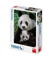 Dino puzle Pandí rodinka 1000D
