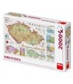 Dino puzle Mapy české republiky 2000D