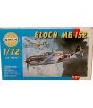 Směr model letadla Bloch MB 152 12,5x13,6cm v krabici 25x14,5x4,5cm
