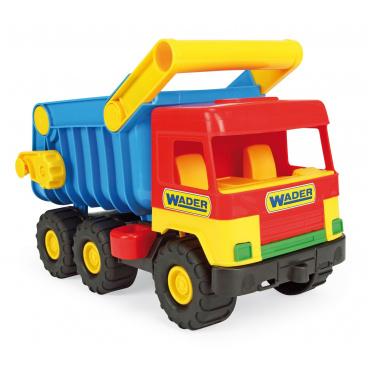 WADER Auto middle Truck sklápěč plast 38cm asst