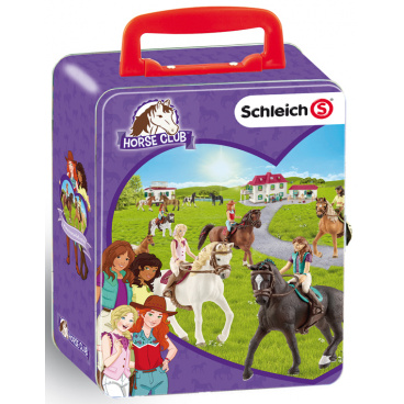 Klein Sběratelský kufřík SCHLEICH koně