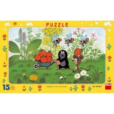 DINO dětské puzzle Krtek na výletě                15D
