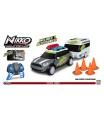 NIKKO RC auto na ovládání Mini Countryman s karavanem šedý